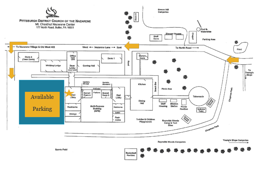 Please follow the  Parking Map for Community Connection Open House to successfully reach our meeting spot.