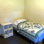 Gorring Hall has two twin beds in each room.