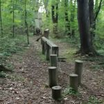 This is part of the obstacle course at Mount Chestnut Nazarene Retreat Center.