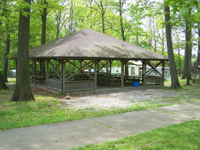 This is the Fuller Picnic Pavilion.