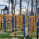 This is the new Playground at Mount Chestnut Nazarene Retreat Center.