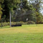 The softball field at Mount Chestnut Nazarene Retreat Center.
