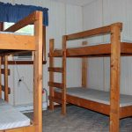 These are bunks in the Staff Dorm.