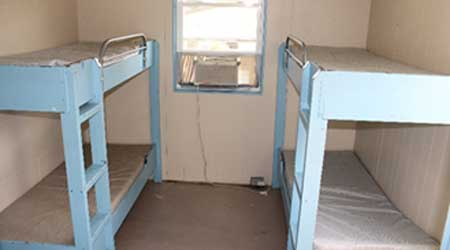Photo of the interior of Dorm One, which needs a major upgrade.